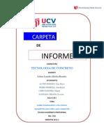 Informe de Tecnologia de Concreto