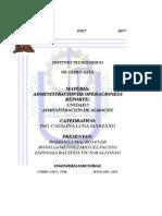 Desarrollo Unidad 5 Administracion de Operaciones