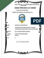 UPLA-00-E-If-0006-B Materiales de La Construccion y Avances Tecnologiscos en El Peru y El Mundo