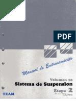 10.- SISTEMA DE SUSPENSIÓN