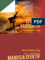 Menjadi Manusia Efektif Dan Produktif
