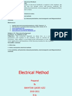 Lecture-12- Introduction & Theoritical Background -Electrical Method
