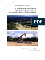 12. Informe Preliminar de Alcance, Enero 2012