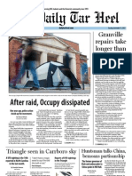 The Daily Tar Heel for November 13, 2012