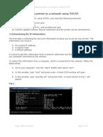 Adding Printer TCP