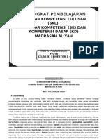 Skl Fiqih Ma Kelas Xi, 1-2