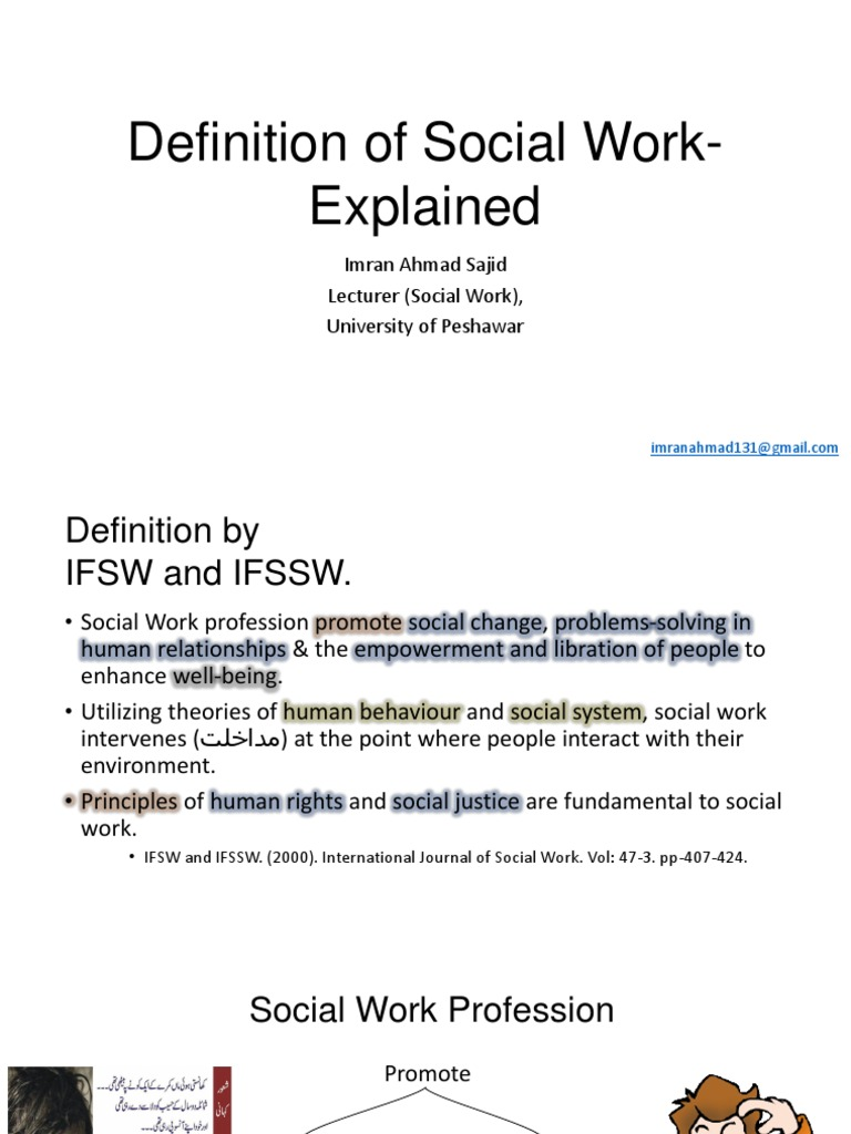 Definition Of Social Work Explained