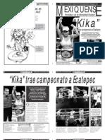 Versión impresa del periódico El mexiquense 12 de noviembre 2012
