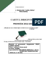 CAIETUL DIRIGINTELUI 2012-2017