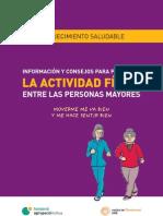 Informacion y consejos para la promoción de la AF entre las personas mayores