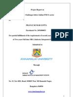 Fmcg Final Project