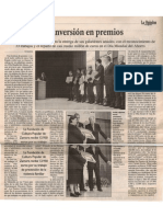 Premios Caja España. La Opinion Zamora. Diciembre 2004