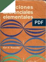 63040284 Ecuaciones Diferenciales Element Ales Rainville