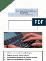 Catalogue Formation ONECCA Senegal