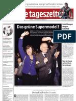 Tageszeitung TAZ - 23.10.2012
