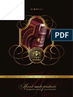 Princ Leather - Katalog 2013 | Leather Accessories - 2013 Catalogue