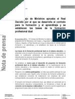 01 Nota de Prensa Fp Dual
