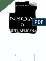 Nze Abuy, Rafael María, Nsoa, o, Dote africana (Spain