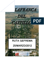 Ruta Gefrema Marzo 2012