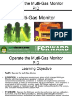Operate the Mult-Gas Monitor