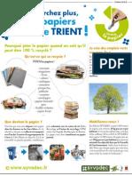 Campagne Tri Papier - Publireportage