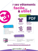 Campagne Filiere Textile - Flyer A5