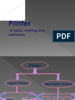 Printers,Types ,Working and Use.