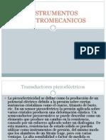INSTRUMENTOS ELECTROMECANICOS