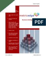 MetricEdge, ITIL, BMC Remedy Dashboard, Incident Management, Report List