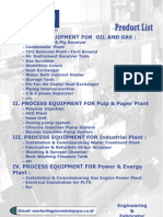 Equipment Product Oil & Gas