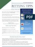 Datenrettung Expertentipps Ausgabe 1