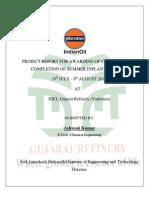 indian oil gujarat training report