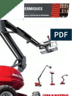 Manitou Diesel Aerial Work Platforms (FR)