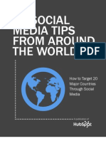 62 Tips de todo el Mundo para tu Estrategia Social Media