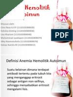 Anemia Hemolitk Autoimun Fix