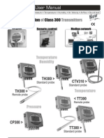 Configuration of Class 300 Transmitters