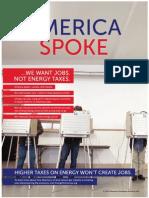 America Spoke