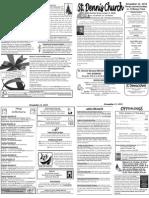 Nov 11 Bulletin