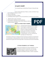 Causas de La Primera Guerra Mundial - Copia