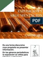 EXPOSICIÓN Y ARGUMENTACIÓN