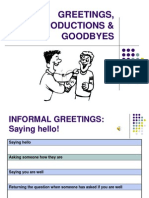 Copia de Greeting, Introductions and Goodbyes