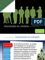 NOCIONES PERIODISMO DE OPINIÓN