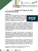 Seminario Presentación y Análisis de NIIF para Microempresas