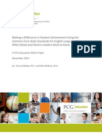 Public Consulting Group - Common Core White Paper