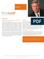 Public Consulting Group Employee - Gary Reimers