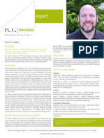 Public Consulting Group Employee - Evan Lefsky