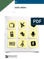 Mapping Digital Media Peru. Por Úrsula Freundt-Thurne, César Pita y María José Ampuero.