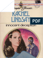 Rachel Lindsay - Innocent Deception