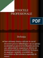 5. Toxicele Profesionale Curs V