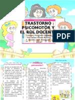 desarrollo psicomotor triptico